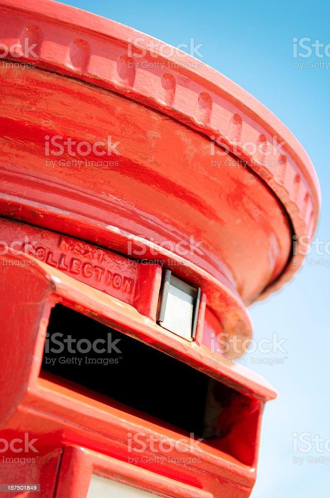 Postbox Close-up royalty-free stock photo