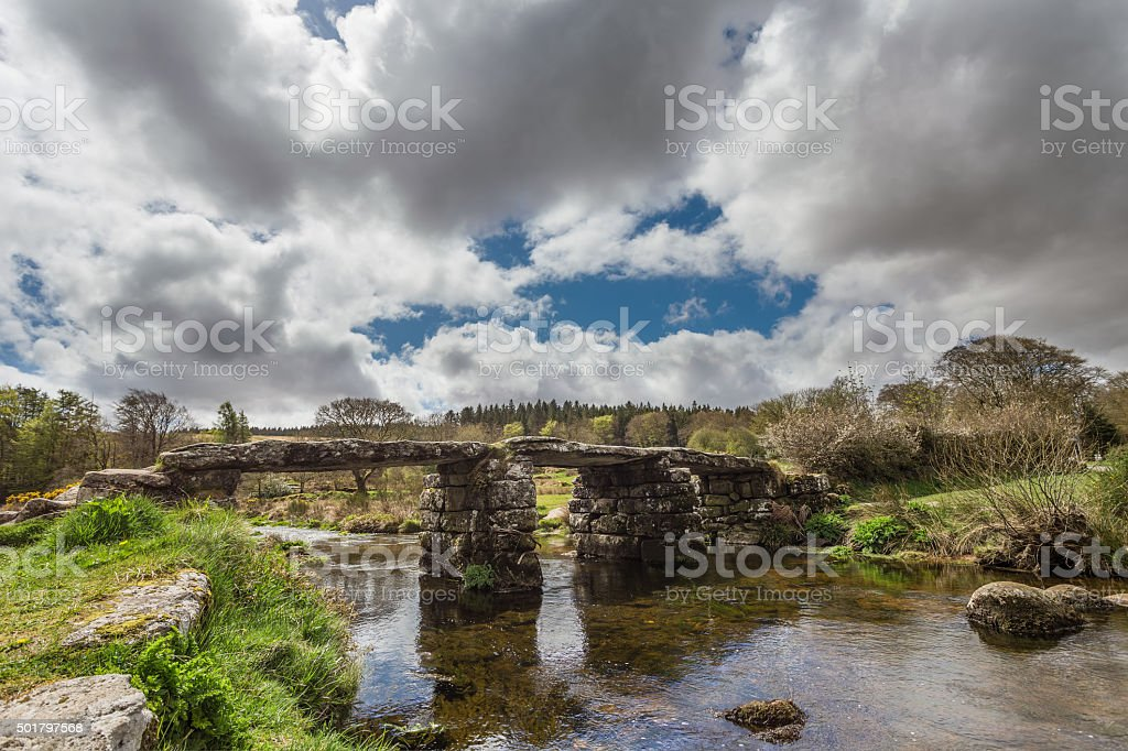 Postbridge stock photo