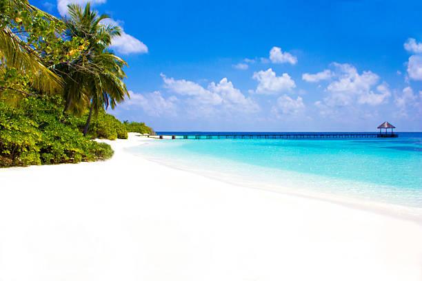 Cartolina da Cheval Blanc Randheli, le Maldive - foto stock