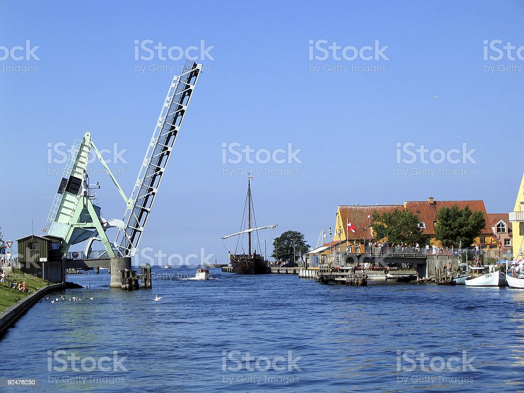 Postcard from Denmark royalty-free stock photo