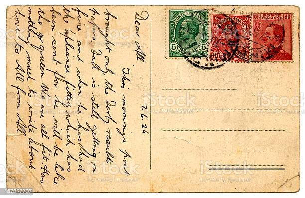 Postcard from Italy 1924