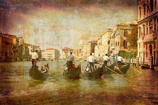 tarjeta postal de italia (serie - postal worker fotografías e imágenes de stock