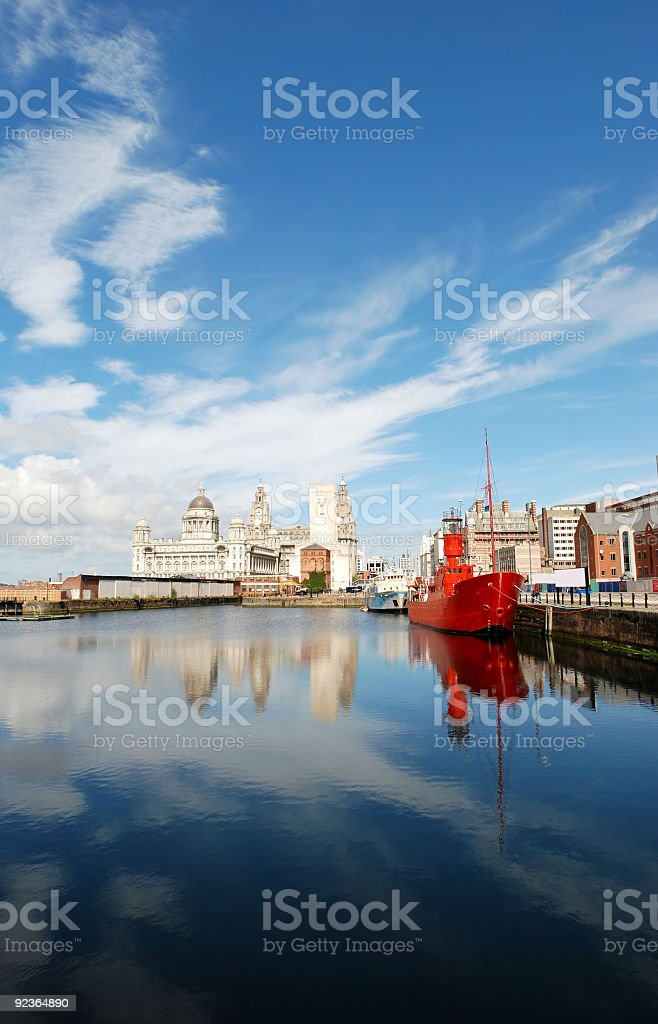 Postcard from Liverpool - Portrait royalty-free stock photo