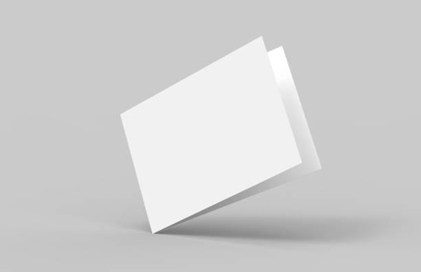 postal invitación tarjeta de felicitación maqueta - postal worker fotografías e imágenes de stock