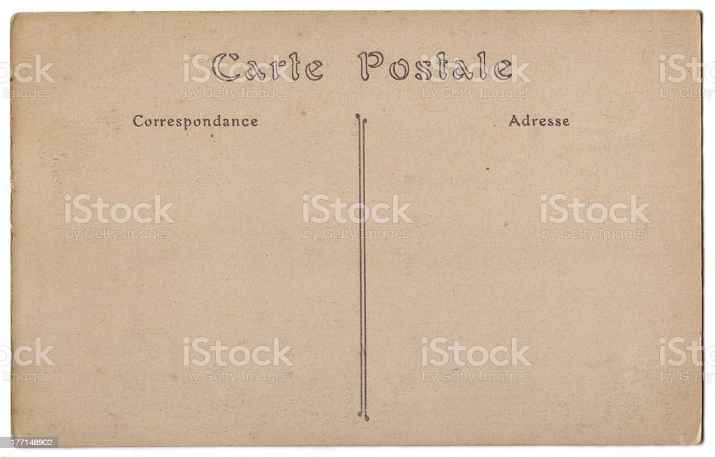 carte postale royalty-free stock photo
