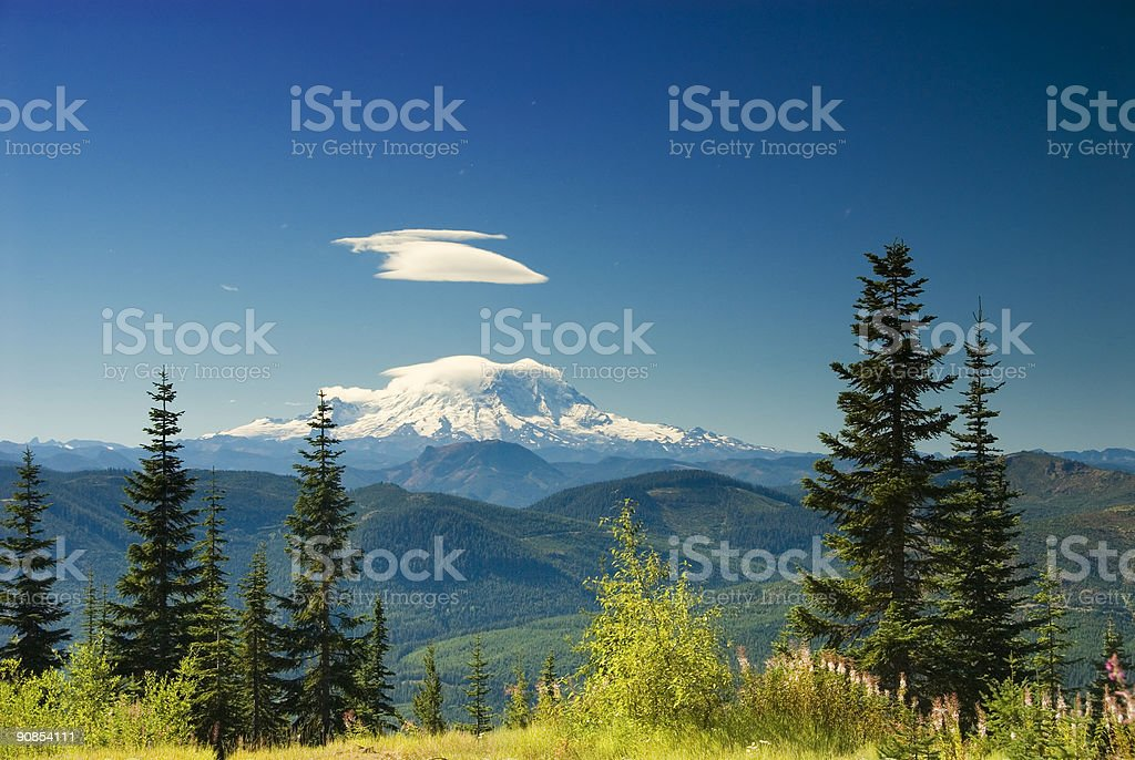Postcard Ready - Pacific Northwest stock photo
