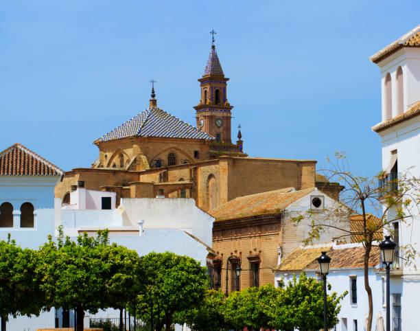 Postcard View of Carmona, Sevilla, Spain stock photo