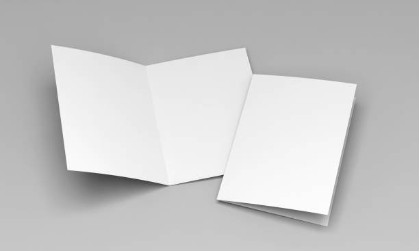 postcard white template stock photo