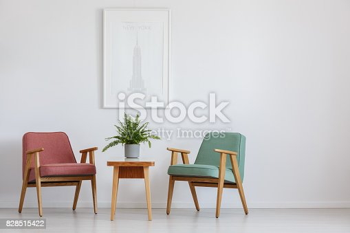 istock Poster above table 828515422