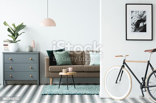 istock Poster in livng room interior 960349732