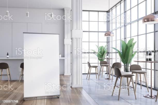 Poster in white cafe interior picture id1200571748?b=1&k=6&m=1200571748&s=612x612&h=8zj6wliiaxregwf2cswkli0wgpdt pdrvh0ebcbarr4=