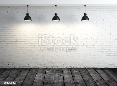 istock poster in white room 156820532