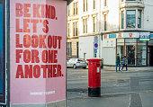 istock Poster promoting kindness during Coronavirus pandemic 1218750204