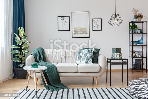 istock Posters in cozy apartment interior 943910360