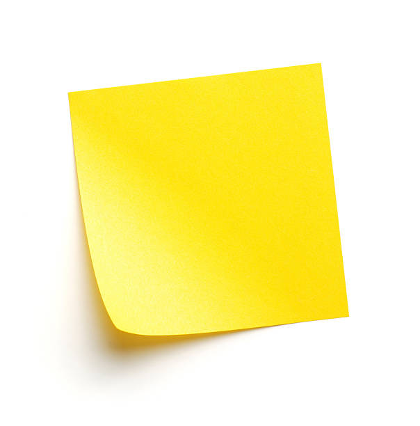 post-it - post it foto e immagini stock