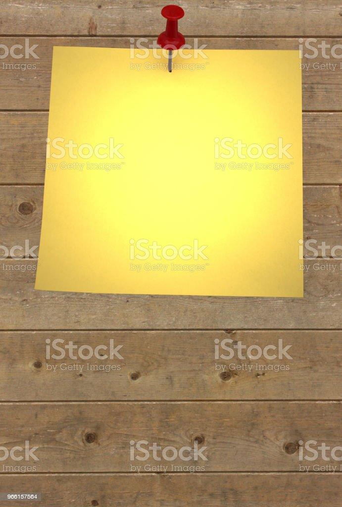 Post-it utrymme för kommunikation - Royaltyfri Etikett Bildbanksbilder
