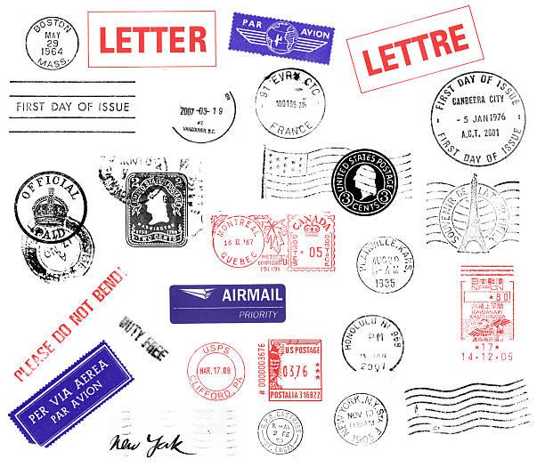 소인 - stamp 뉴스 사진 이미지