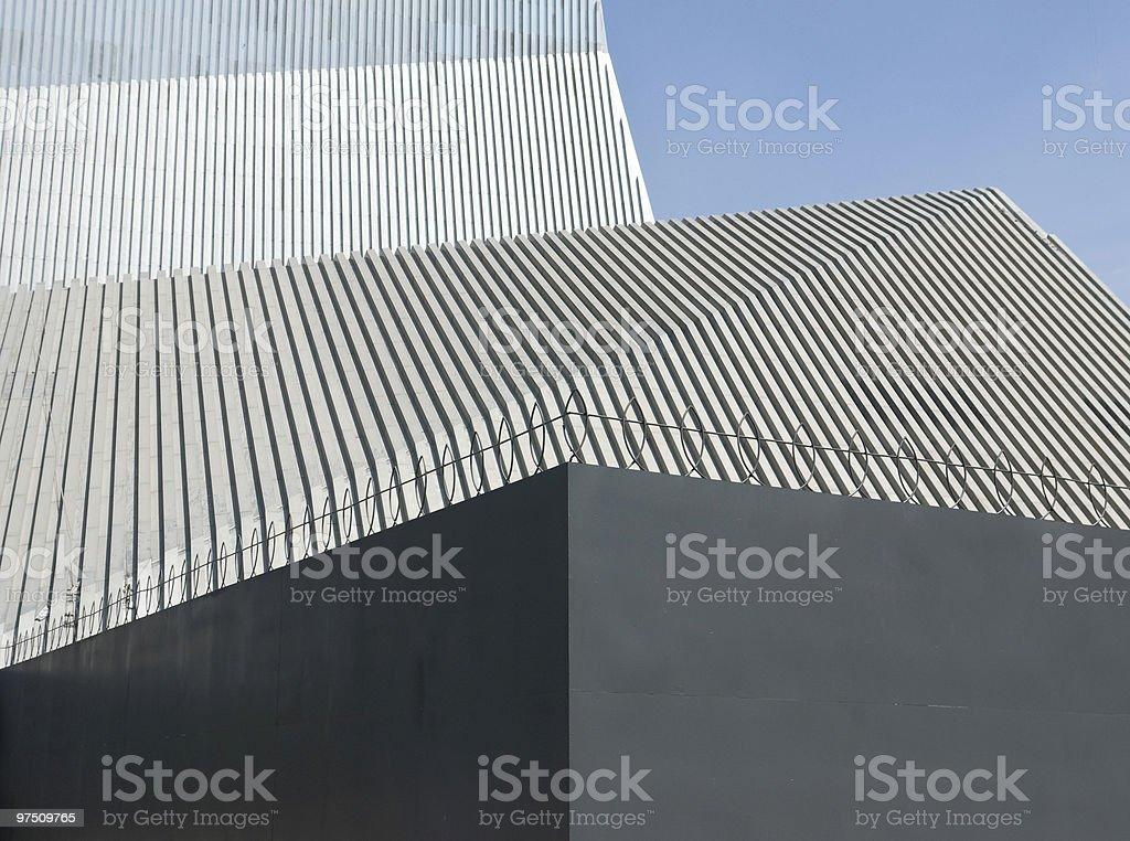 Postmodern architecture royalty-free stock photo