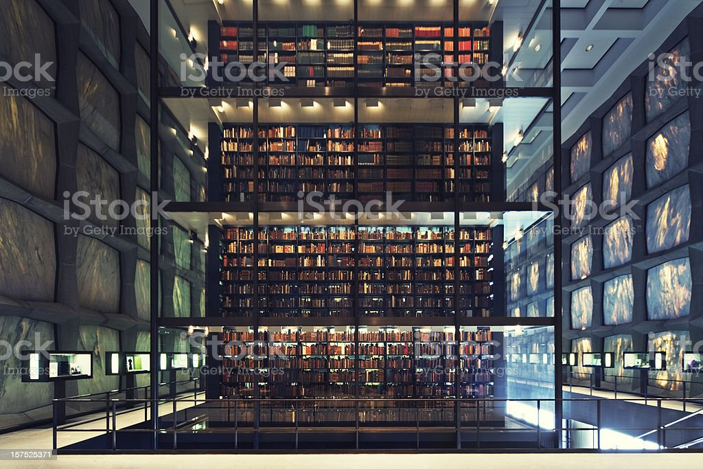 postmodern library royalty-free stock photo