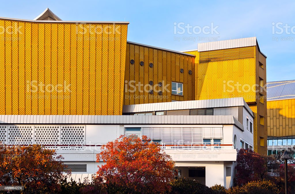 Postmodern Autumn >> Postmodern Office Building Stock Photo More Pictures Of 2015 Istock