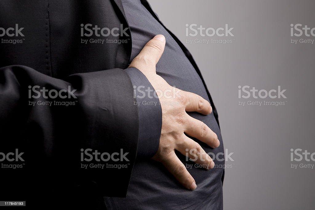 Pot Belly stock photo
