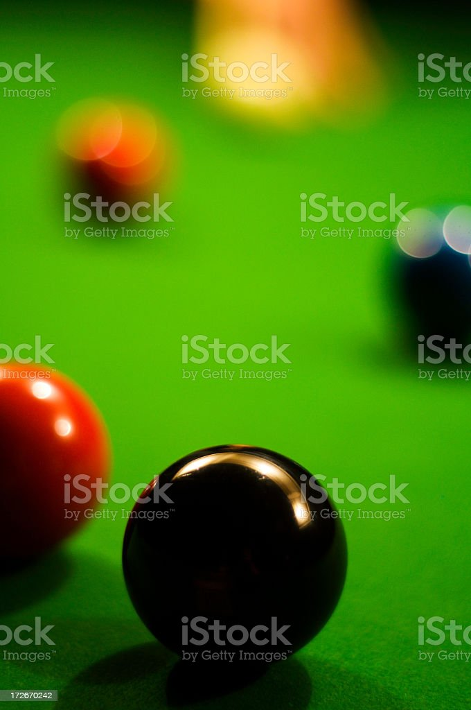 Pot Black! royalty-free stock photo