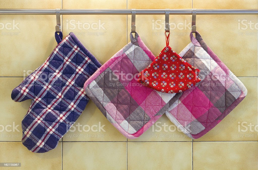 Pot Holders royalty-free stock photo