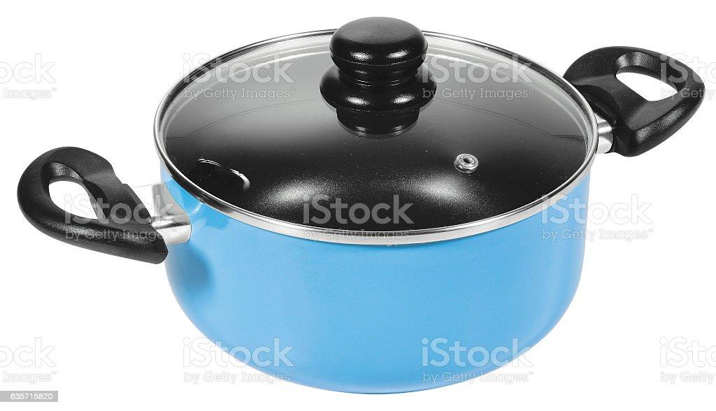 pot Isolated on white background royalty-free stock photo