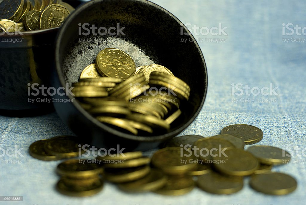 Pot of Gold royalty-free stock photo