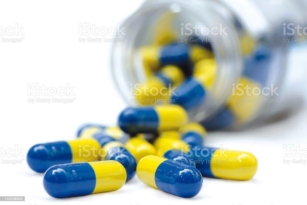 pot of pills royalty-free stock photo