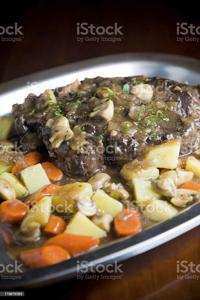 pot roast royalty-free stock photo