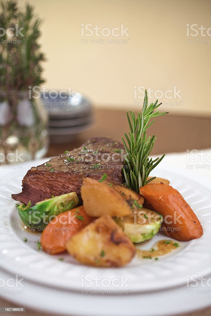 Pot Roast royalty-free stock photo