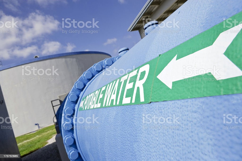 Potable Water royalty-free stock photo