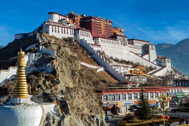 Potala-Kloster in Lhasa, Tibet autonome Region, China – Foto