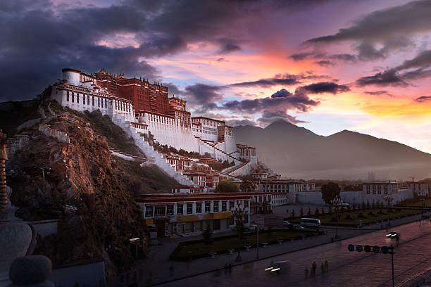 Potala Palace at dawn