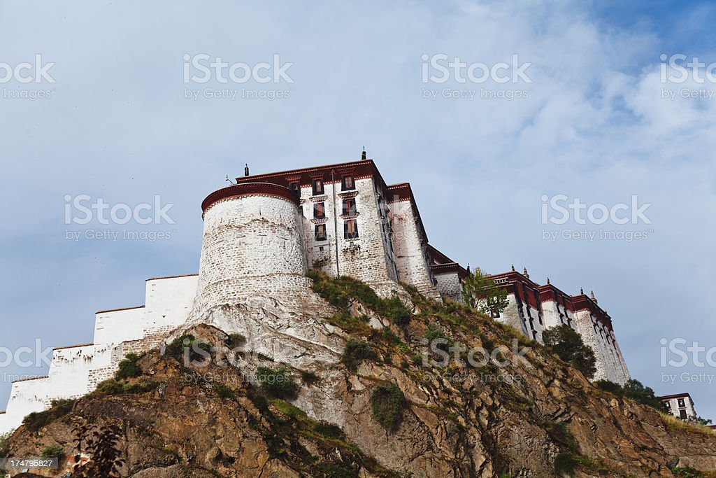 Potala Palace in Lhasa, Tibet, China royalty-free stock photo