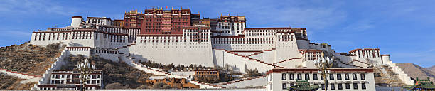 Potala Palace Lhasa Tibet stock photo