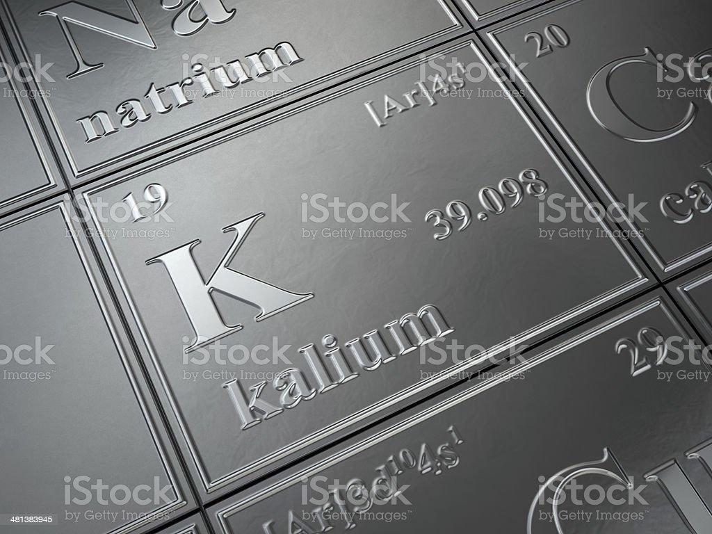 potassium stock photo