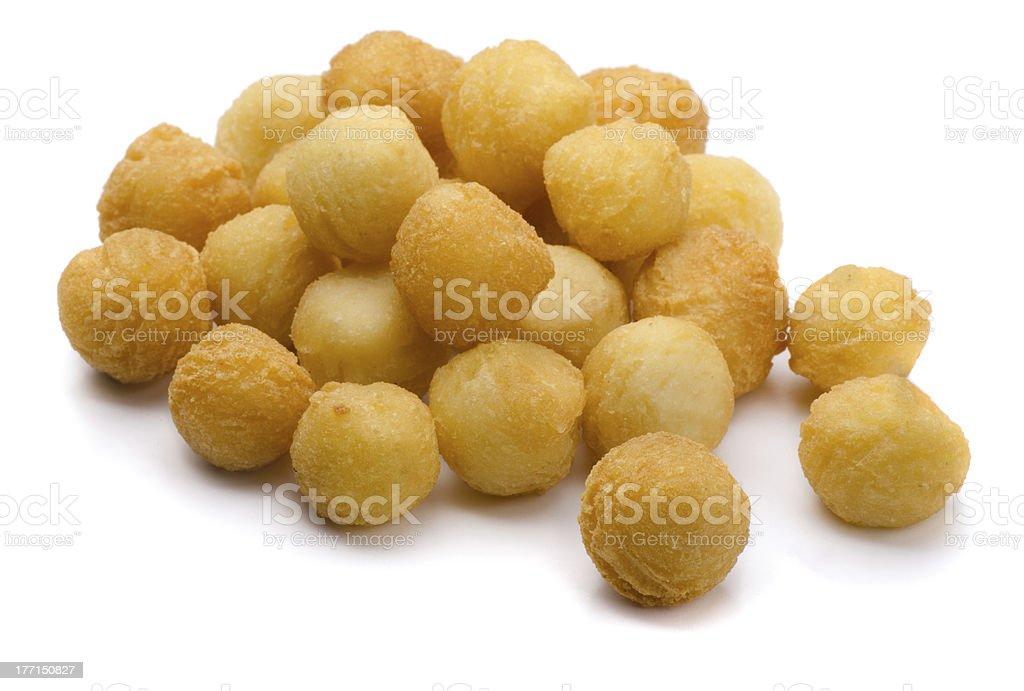 Potato balls stock photo