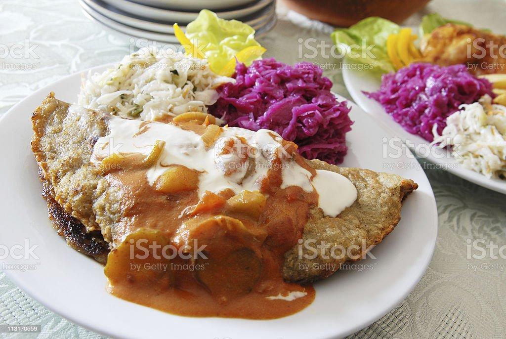 potato cake stock photo