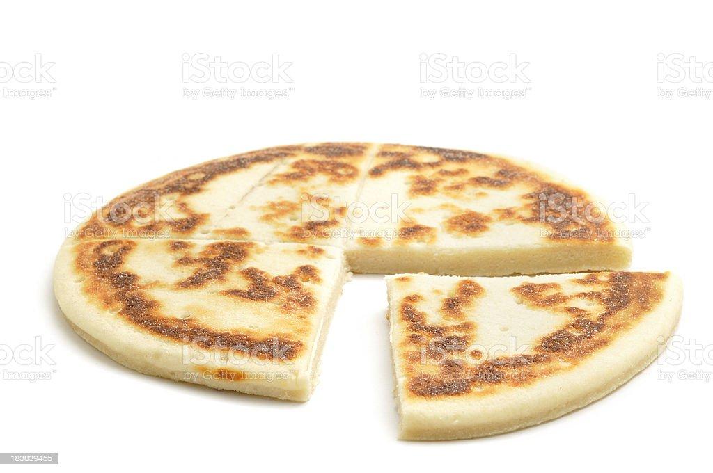 Potato Cake Sliced stock photo