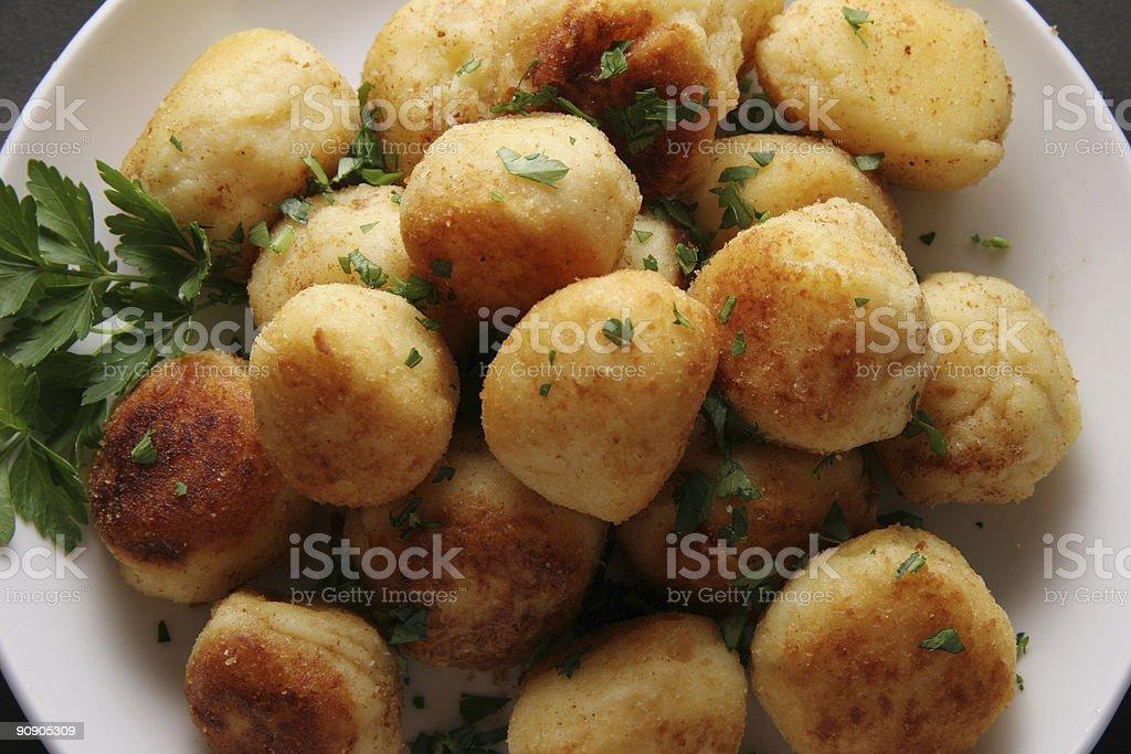 Potato cakes. stock photo