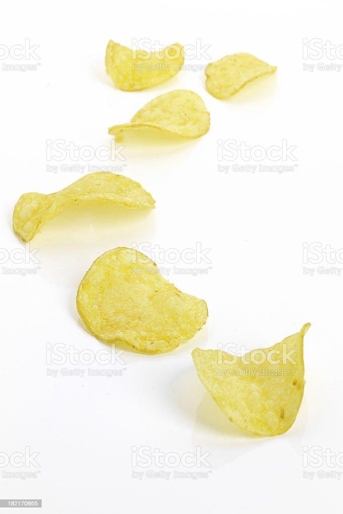 Potato Chip stock photo