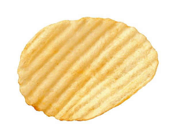 Chips mit Kamm Isoliert – Foto