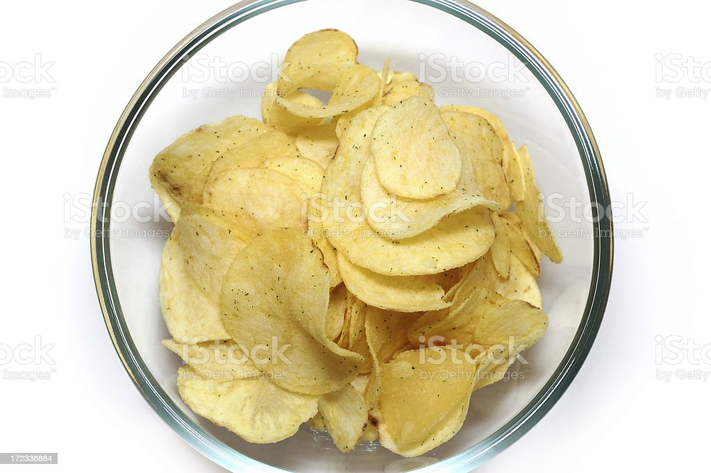 Potato chips (Food #2) stock photo