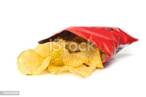 A Packet of Potato Chips or Crisps