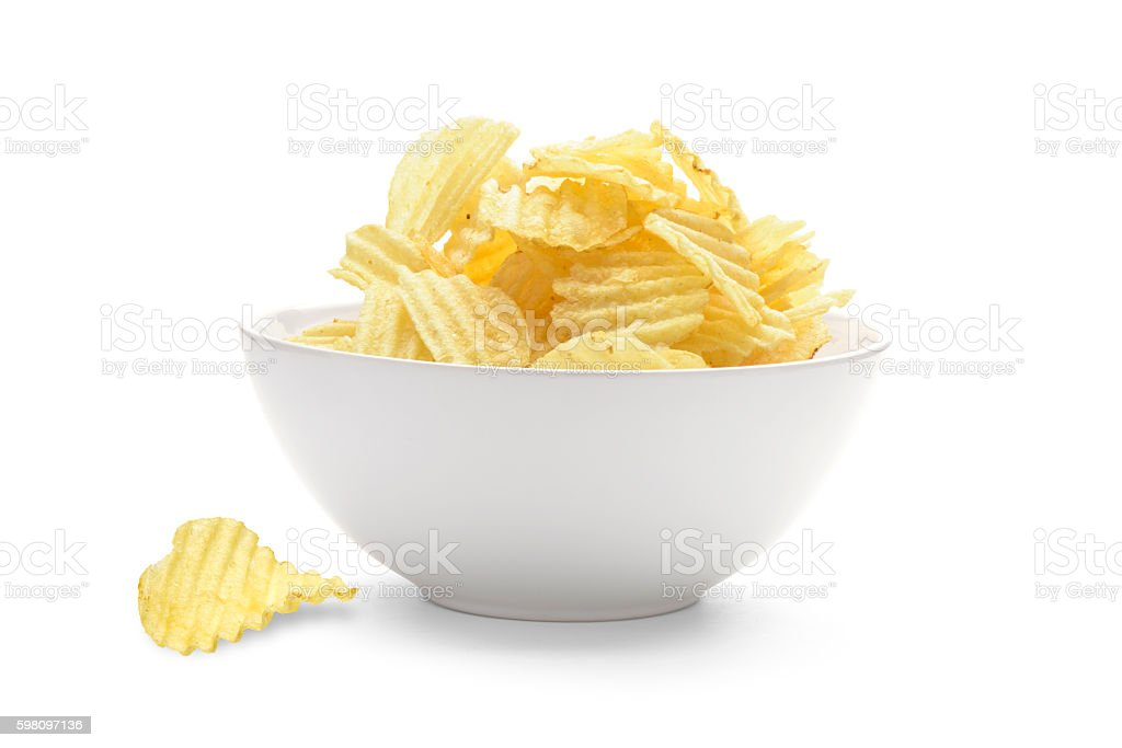 Potato fritas  - foto de stock