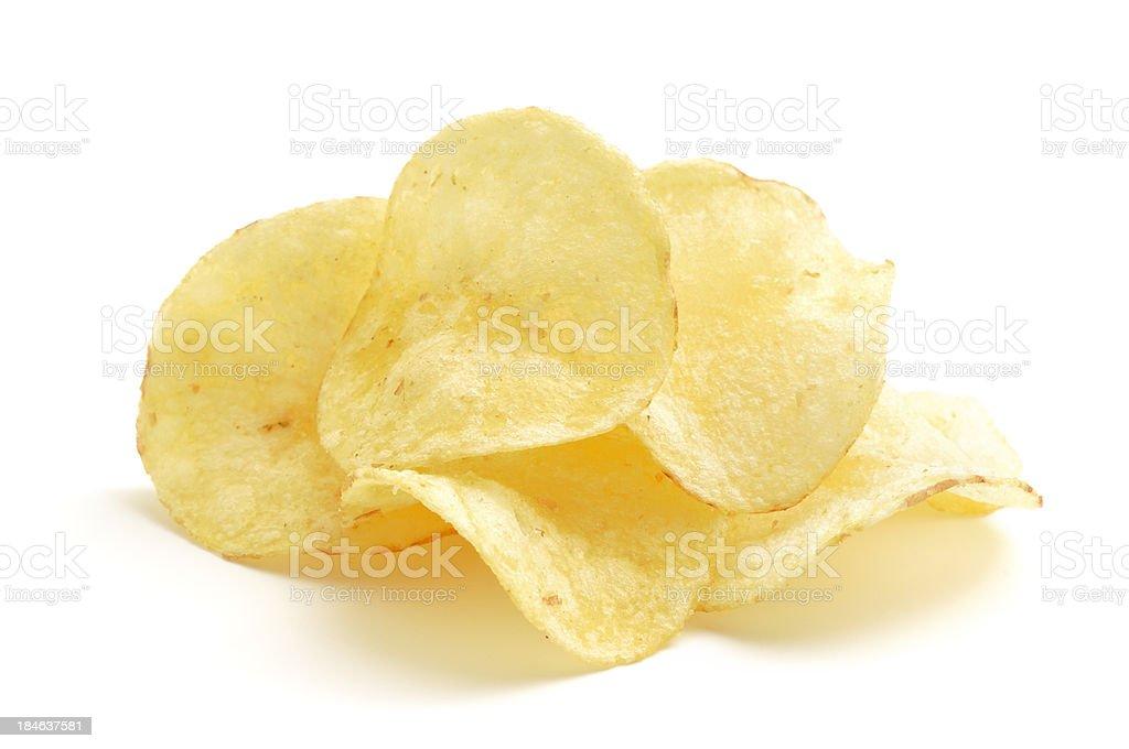Potato Crisps stock photo