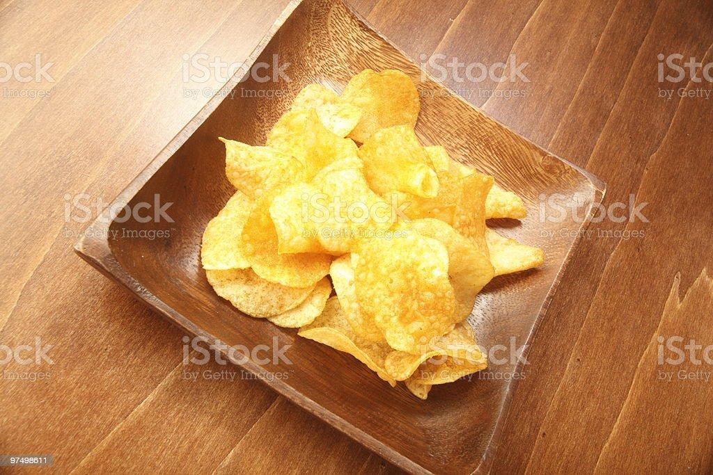 Potato Crisps royalty-free stock photo
