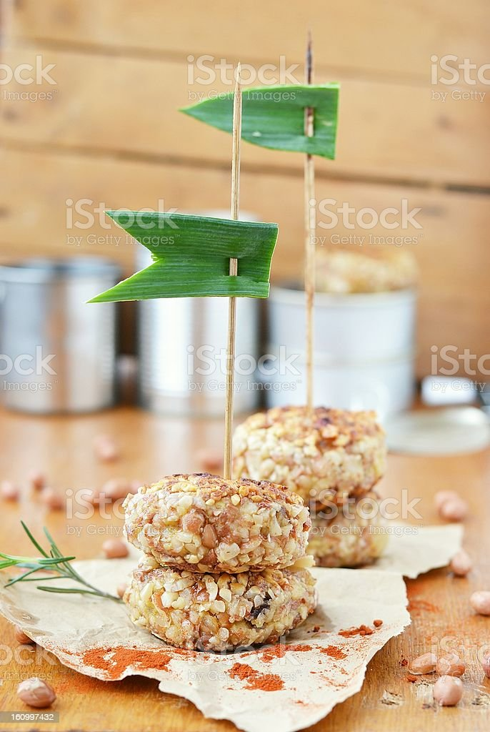 potato croquettes royalty-free stock photo